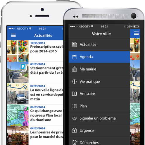Application mobile mairie Neocity